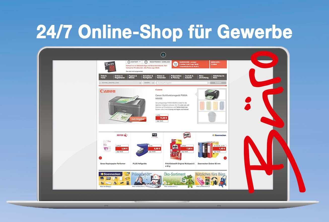 Büro Box Buxtehuder Büroartikel Markt: Online-Shop für Gewerbe