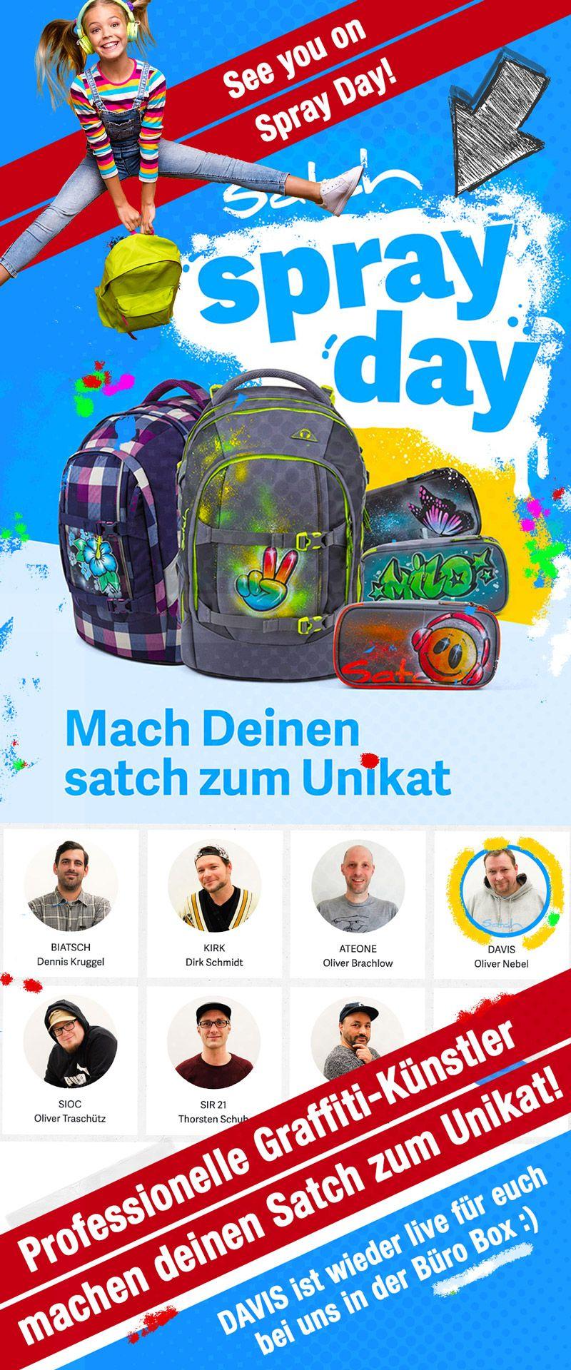 Büro Box Buxtehude: Satch Spray Day.