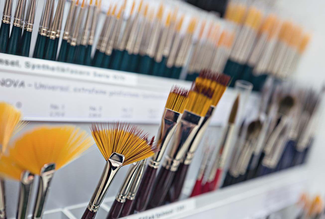 Büro Box Buxtehuder Büroartikel Markt: Pinsel + Spachtel für viele Anwendungen